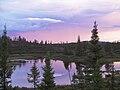 Coucher de soleil sur notre lac.jpg