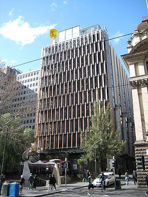 Urban planning in Australia - Council House 2, Melbourne. An example of sustainable design