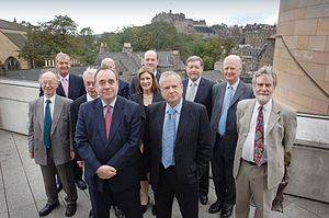 Council of Economic Advisers (Scotland) - The Council at their first meeting