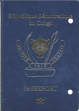 Visa Requirements For Democratic Republic Of The Congo Citizens Wikipedia
