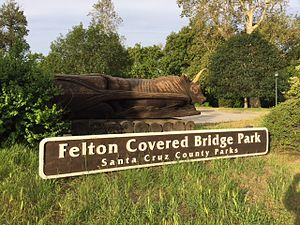 Felton, California - Felton Covered Bridge Park