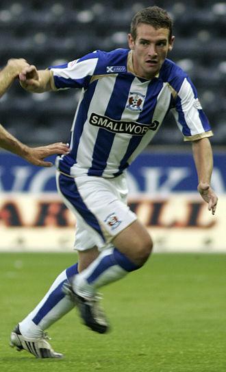 Craig Bryson - Bryson playing for Kilmarnock in August 2009
