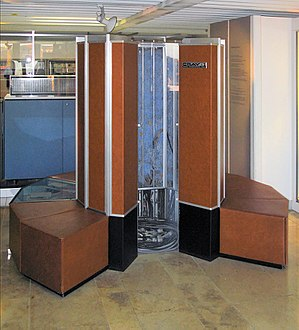 Supercomputer - A Cray-1 preserved at the Deutsches Museum
