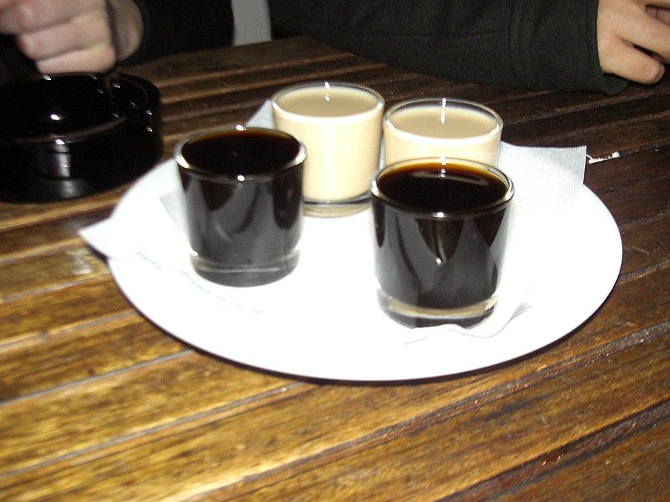 Crema de orujo y licor café