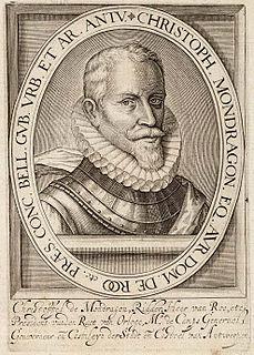Cristóbal de Mondragón Spanish general