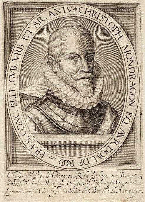 Cristóbal de Mondragón y Otalora (Hillebrant Jacobsz van Wouw I, 1599)