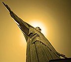 Cristo Redentor viewed from the base.jpg