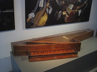 Spinettone - The Cristofori spinettone in the collections of the Musical Instrument Museum in Leipzig, Germany