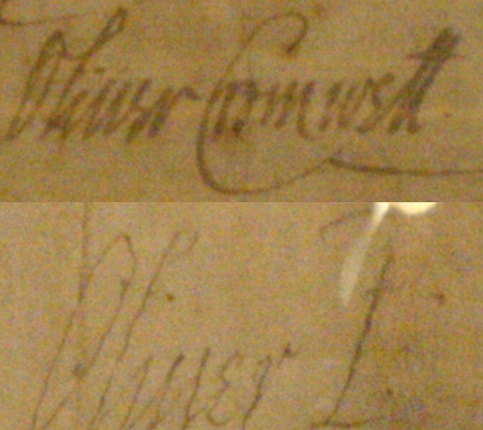 Cromwell signature