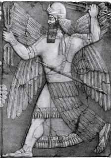 ancient Mesopotamian god