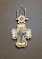 Cross (saphire cameo - Constantinople, 12-13 c; mount - Moscow Kremlin workshop, 16 c; Kremlin museum) 02 by shakko.JPG