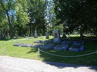 Crown Hill Cemetery - Image: Crown Hill Confederates