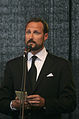 Crown prince Haakon at the 2011 rose march in Oslo.jpg