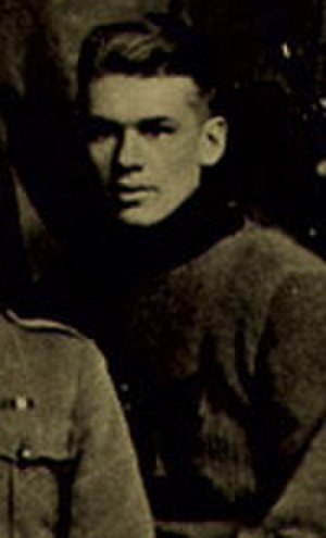 John Morrison (ice hockey b. 1895) - Morrison in 1916 with the Winnipeg 61st Battalion.