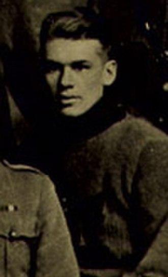 John Morrison (ice hockey b. 1895) - Morrison in 1916 with the Winnipeg 61st Battalion.