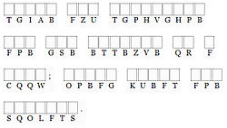 definition of cryptogram