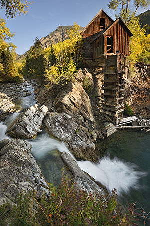 Gunnison County, Colorado - The historic Crystal Mill, built in 1893.