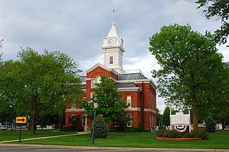 Cumberland County Courthouse (Illinois) - Image: Cumberland courthouse
