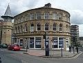 Curved building, Lord Street, Huddersfield - geograph.org.uk - 862195.jpg