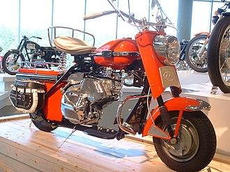 Cushman (company) - Cushman motor scooter