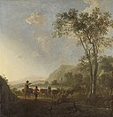 Cuyp, Aelbert - Landscape with herdsman and cattle - Rijksmuseum.jpg
