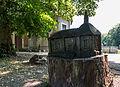 Dülmen, Dernekamp, Holzskulptur -Marienkapelle- -- 2015 -- 7290.jpg