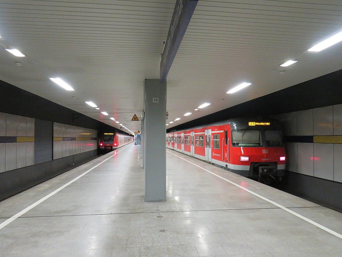 Bahnhof Düsseldorf Flughafen Terminal Wikipedia