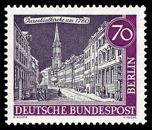 Parochialkirche - Image: DBPB 1962 226 Parochialkirche