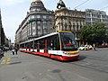 DPP tram line 9 at Václavské náměstí 01.jpg
