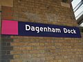 Dagenham Dock stn signage non-standard font.JPG