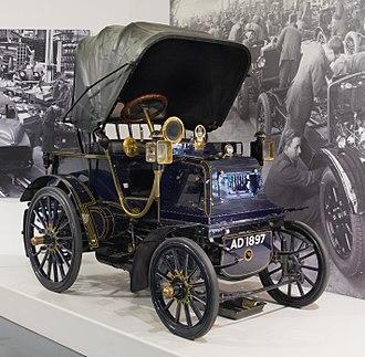 Phaeton body - 1897 Daimler Grafton Phaeton