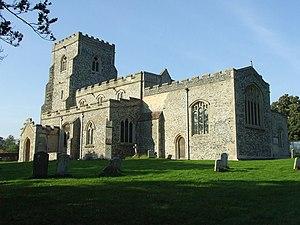 Dalham - Image: Dalham Church of St Mary