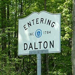 Skyline of Dalton, Massachusetts