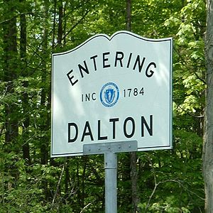 Dalton, Massachusetts - Image: Dalton Road Sign