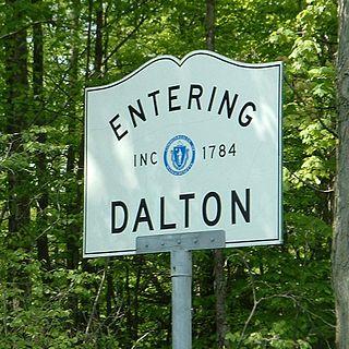Dalton, Massachusetts Town in Massachusetts, United States