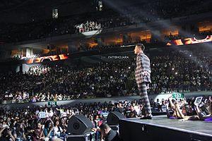 Daniel Padilla - Daniel Padilla performing during his Most Wanted Concert, 2015