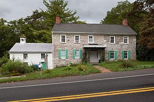Daniel Royer House - East side of the house in September 2014
