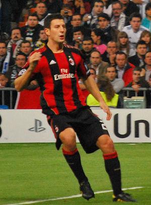 Daniele Bonera - Bonera in action for Milan