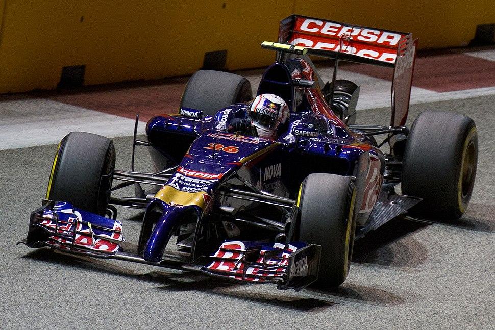 Daniil Kvyat 2014 Singapore FP2