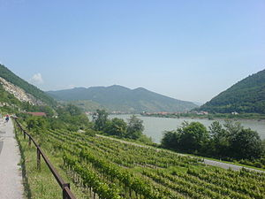 EV6 The Rivers Route - Image: Danube cycleway Austria