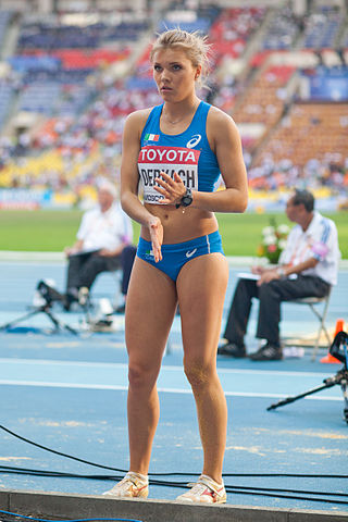 Dariya Derkach (2013 World Championships in Athletics) - 3.jpg