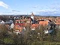 Darmsheim mit evangelischer Pelagiuskirche, gegründet 1680 - panoramio.jpg