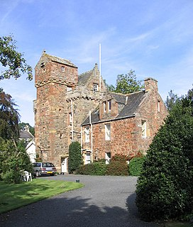 village in Scottish Borders, Scotland, UK