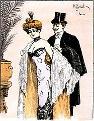 wikipedia image of flirting