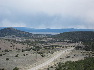 Datil, New Mexico - Datil viewed from the northwest