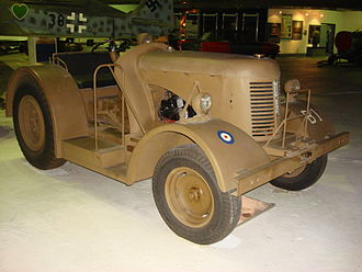 David Brown Ltd. - David Brown light diesel tractor Mk2 at the RAF Museum, London