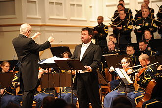 David Daniels (countertenor) - Daniels in concert with the U. S. Army Chorus and Orchestra