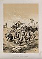 David Livingstone and his men stung by bees in central Afric Wellcome V0018854ER.jpg