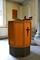 De Gamles Bys Kirke Copenhagen pulpit.jpg