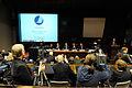 De nordiska statsministrarna haller pressmote under Nordiska radets session i Helsingfors 2008-10-28.jpg